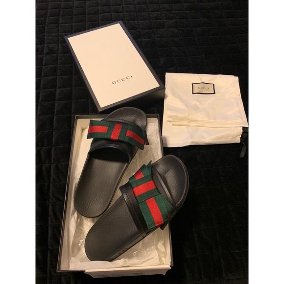 312d53b3626 Gucci Shoes - Authentic Gucci Women s Bow Slides
